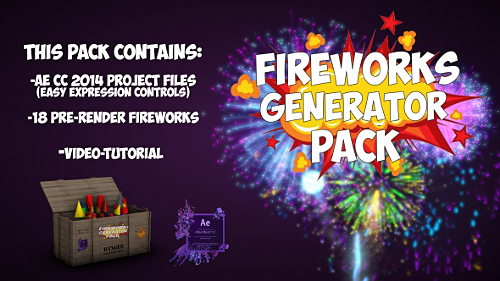Fireworks - Project for After Effects (Videohive)