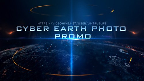 Cyber Earth Photo Promo - Project for After Effects (Videohive)