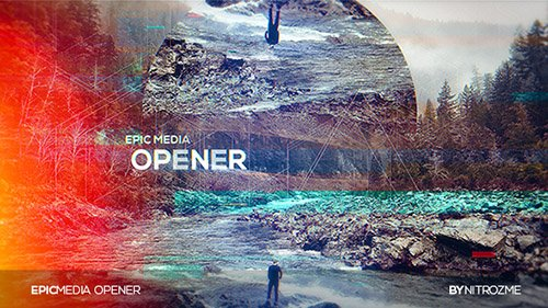 Epic Media Opener 20287403 - Project for After Effects (Videohive)