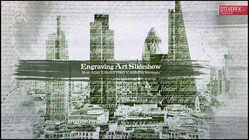 Engraving Art Slideshow - Project for After Effects (Videohive)