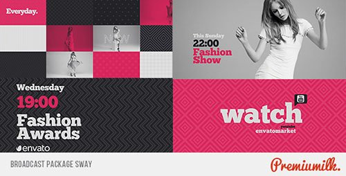 Broadcast Package Sway - Project for After Effects (Videohive)