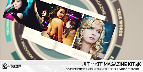 Ultimate Magazine Kit 4K - Project for After Effects (Videohive)