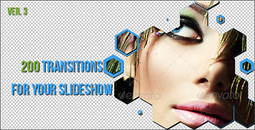 200 Transitions For Your Slideshow - Project for After Effects (Videohive)