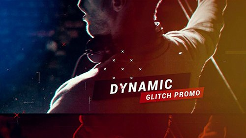 Dynamic Glitch Promo 21051264 - Project for After Effects (Videohive)