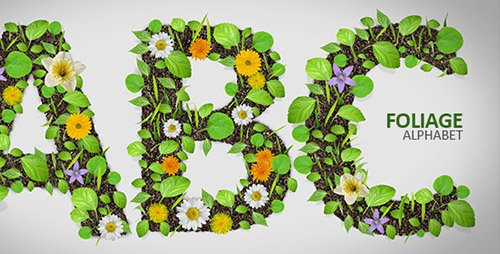 Foliage Alphabet - Project for After Effects (Videohive)