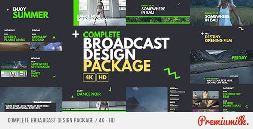 Complete Broadcast Design Package - Project for After Effects (Videohive)