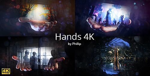 Hands 4K - Project for After Effects (Videohive)