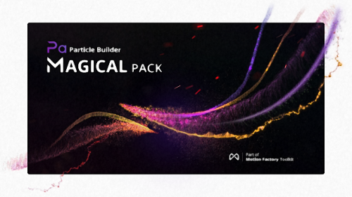 Particle Builder | Magical Pack: Magic Awards Abstract Particular Presets - Preset for After Effects (Videohive)