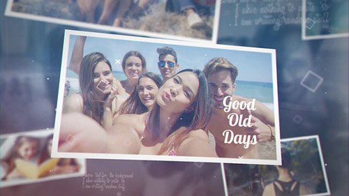 Good Old Days - Project for After Effects (Videohive)