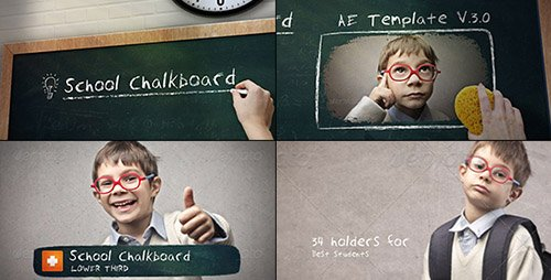 School Chalkboard V.3.0 - Project for After Effects (Videohive)