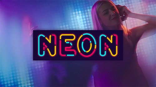 Neon Alphabet 20933440 - Project for After Effects (Videohive)