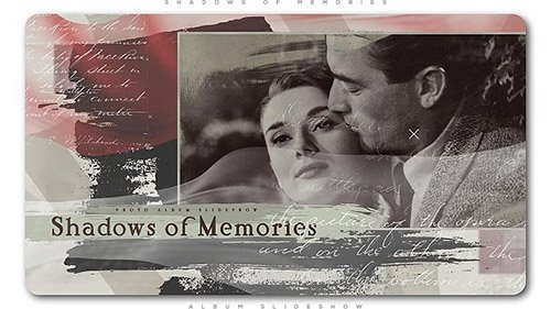Shadows of Memories Album Slideshow - Project for After Effects (Videohive)