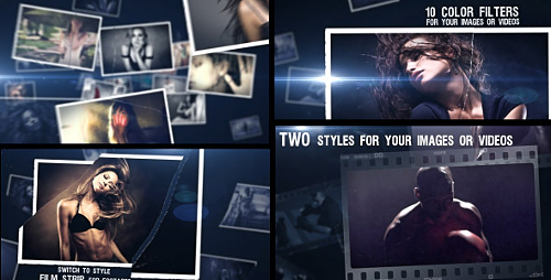 Cinematic Style - Project for After Effects (Videohive)