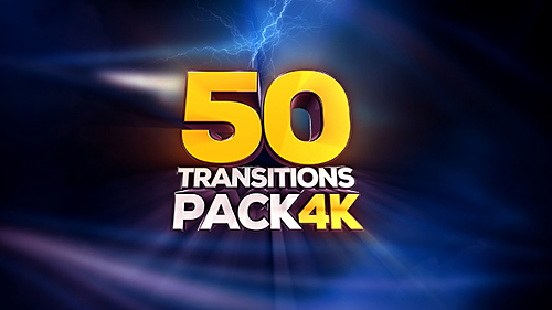 Transitions Pack - 4K - Motion Graphic (Videohive)