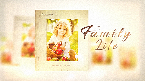 Family Life - Project for After Effects (Videohive)