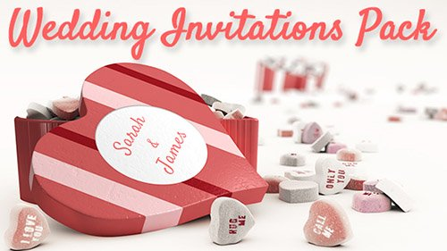 Wedding Invitations Pack - Project for After Effects (Videohive)