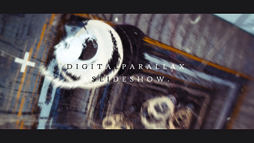 Digital Parallax Slideshow I Opener - Project for After Effects (Videohive)