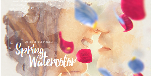 Spring Watercolor - Project for After Effects (Videohive)