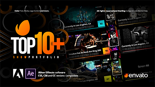 Top +10 Opener - Project for After Effects (Videohive)