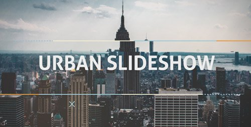 Urban Dynamic Slideshow - Project for After Effects (Videohive)