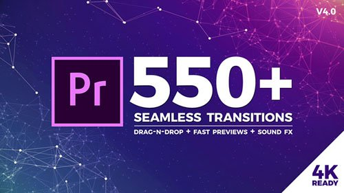 Seamless Transitions - Premiere Pro Templates (Videohive)
