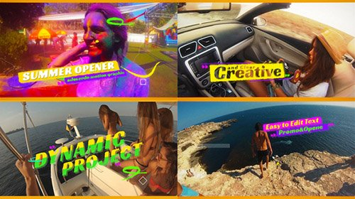 Summer Opener 19745353 - Project for After Effects (Videohive)