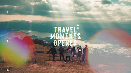 Travel Moments Opener - Project for After Effects (Videohive)
