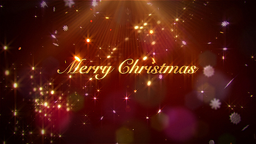 Elegant Christmas Wishes - Project for After Effects (Videohive)