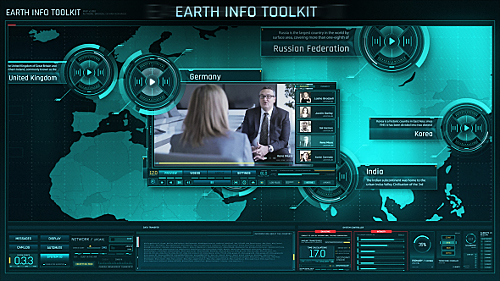 Earth Info Toolkit - Project for After Effects (Videohive)
