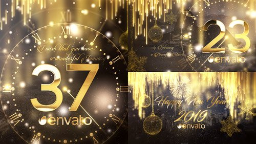 New Year Countdown 2019 - Project for After Effects (Videohive)