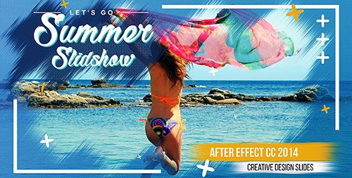 Summer Slideshow 20846293 - Project for After Effects (Videohive)