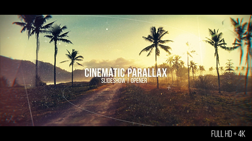 Cinematic Parallax Slideshow - Project for After Effects (Videohive)