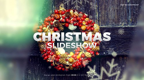 Christmas Slideshow 23008275 - Project for After Effects (Videohive)