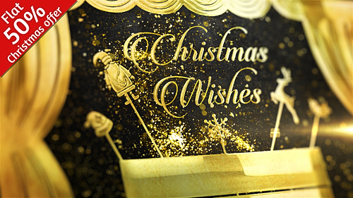 Golden Christmas - Project for After Effects (Videohive)
