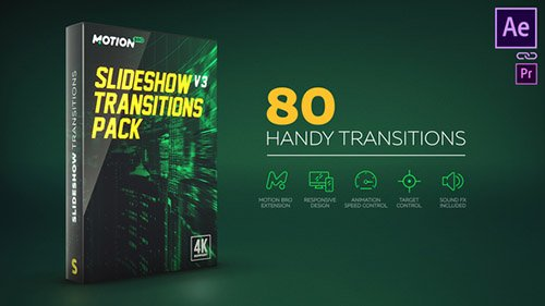 Transitions V4 17811440 - Project for After Effects (Videohive)