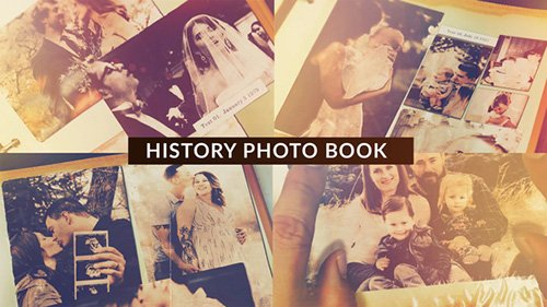 History Photo Book 22714746 - Project for After Effects (Videohive)
