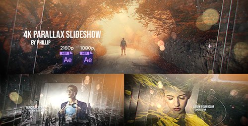 4K Parallax Slideshow - Project for After Effects (Videohive)