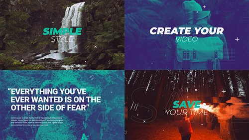 Fast Dynamic Opener 23211553 - Project for After Effects (Videohive)