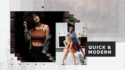Quick & Modern - Project for After Effects (Videohive)