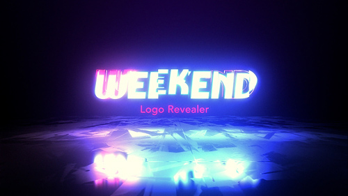 Weekend Logo Revealer - Project for After Effects (Videohive)