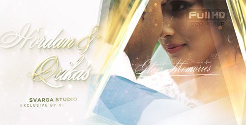 Glass Wedding Memories - Project for After Effects (Videohive)