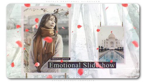 Petals Emotional Slideshow - Project for After Effects (Videohive)