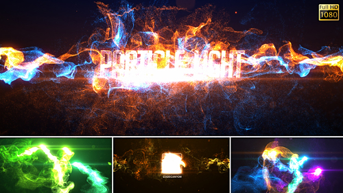 Particle Light Reveal - Project for After Effects (Videohive)