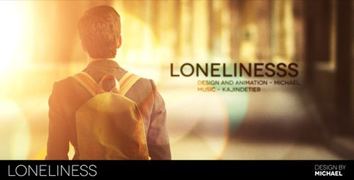 Loneliness 4384457 - Project for After Effects (Videohive)