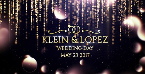 Wedding Opener 19773635 - Project for After Effects (Videohive)