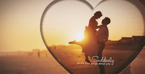Love Story 103384 - After Effects Templates