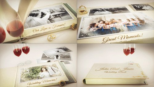 Our Wedding Story - Project for After Effects (Videohive)