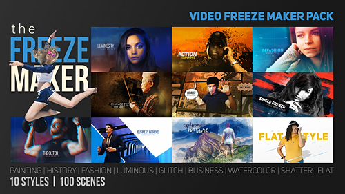 The Freeze Maker - Project for After Effects (Videohive)