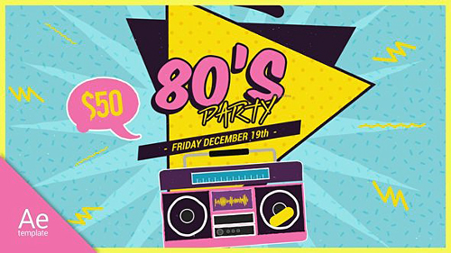 New 80s - Project for After Effects (Videohive)