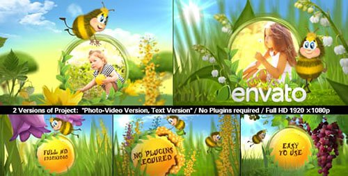 Funny Bee Slideshow - Project for After Effects (Videohive)